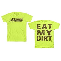 Eat My Dirt Tee - Safety Green