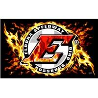 Eldora 3x5 FLAMES Flag