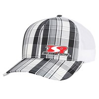 TSR-Gray Plaid Hat