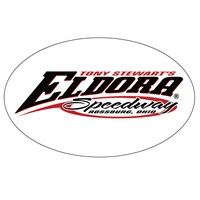 TS Eldora Oval Magnet