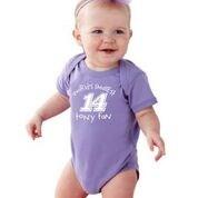 Purple Baby Onesie-Stewart