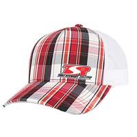 TSR Red Plaid Hat