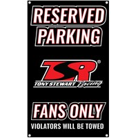 TSR Reserved Parking Sign