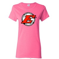 Eldora Ladies Tee-Safety Pink