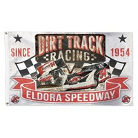 Vintage Eldora 3x5 Flag