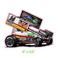 WS Car #14-Decal
