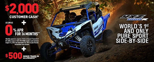 YXZ 1000r Great Deal
