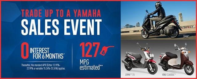 Yamaha Scooter Sale