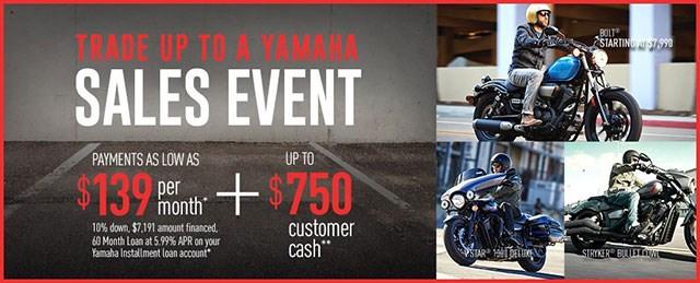 Yamaha Star Motorcycle Sale